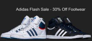 adidas flas sale 30% off