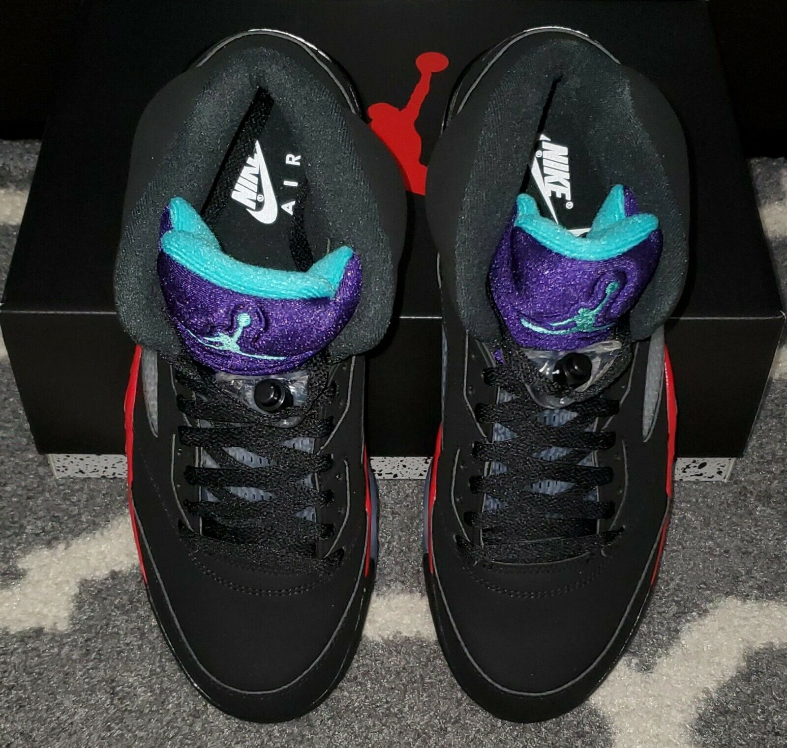 Air Jordan 5 Top 3 CZ1786-001 top view