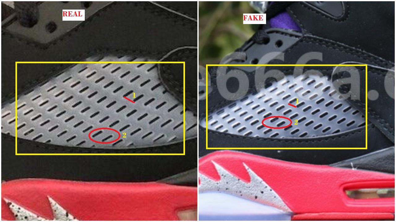 Real Vs Fake air Jordan 5 Top3 1