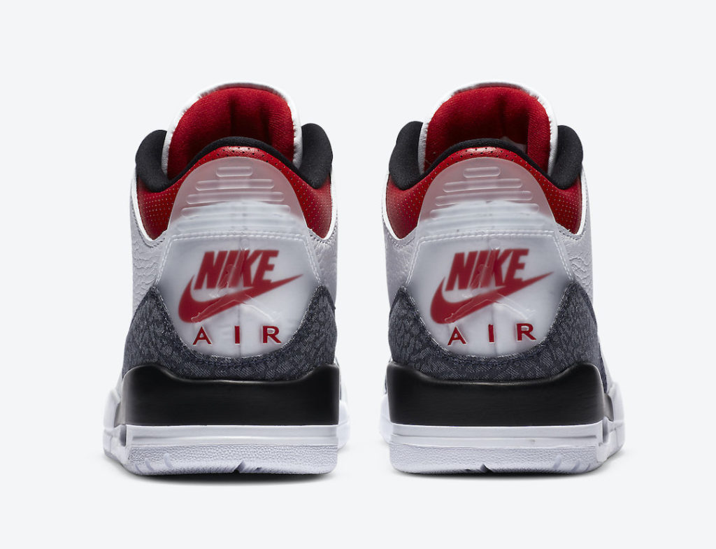 Air Jordan 3 Denim Fire Red CZ6431-100 4