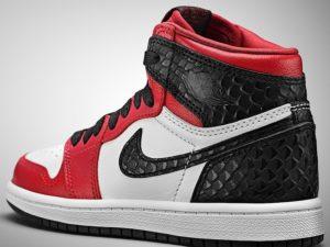 Air Jordan 1 High OG Satin Snake Red CD0461-601