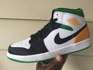 Air Jordan 1 Mid Oakland 852542-101& Buy It Now