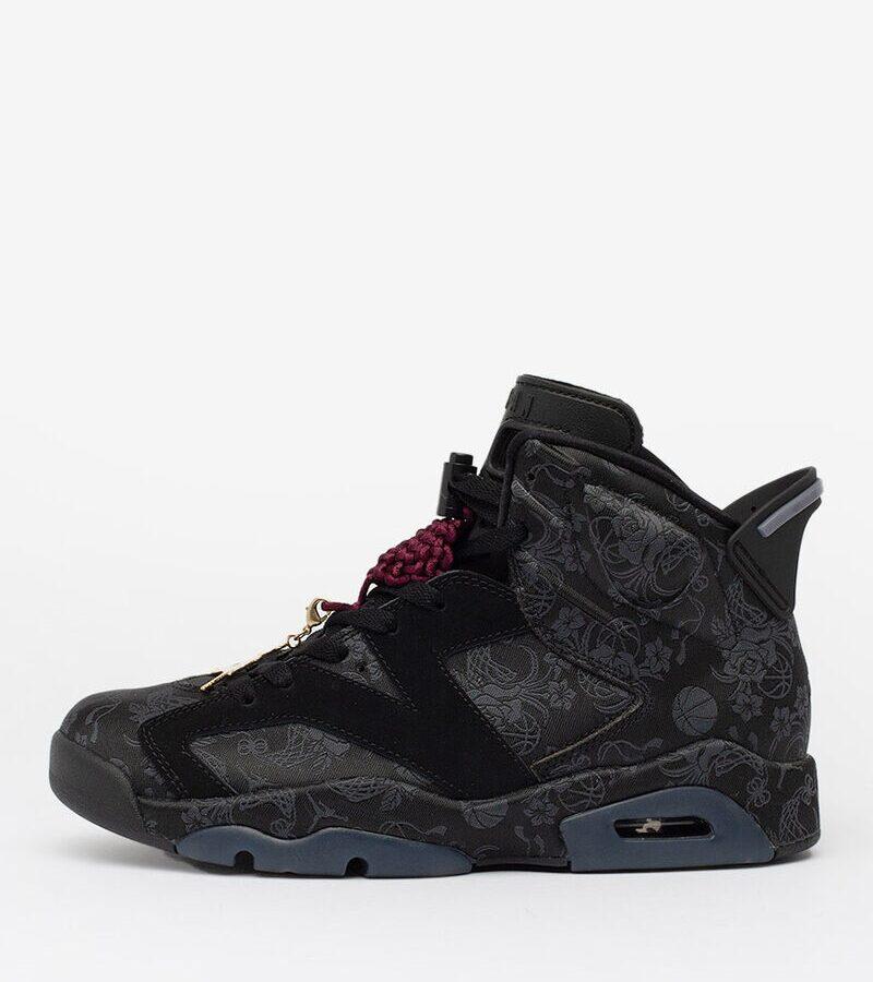 Air Jordan 6 Singles Day Triple Black DB9818-001