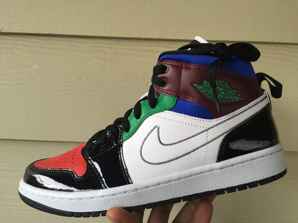 Quick Look At The Air Jordan 1 Mid SE Multicolor DB5454 001