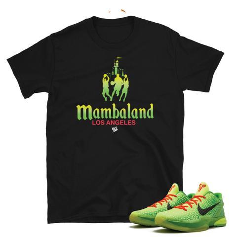 Kobe Grinch Mamba Land T shirt Tee