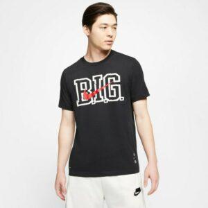 Nike Dri Fit NBA Biggie Tee Logo Tee Mens T-Shirt Black