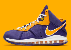 Nike Lebron 8 Lakers
