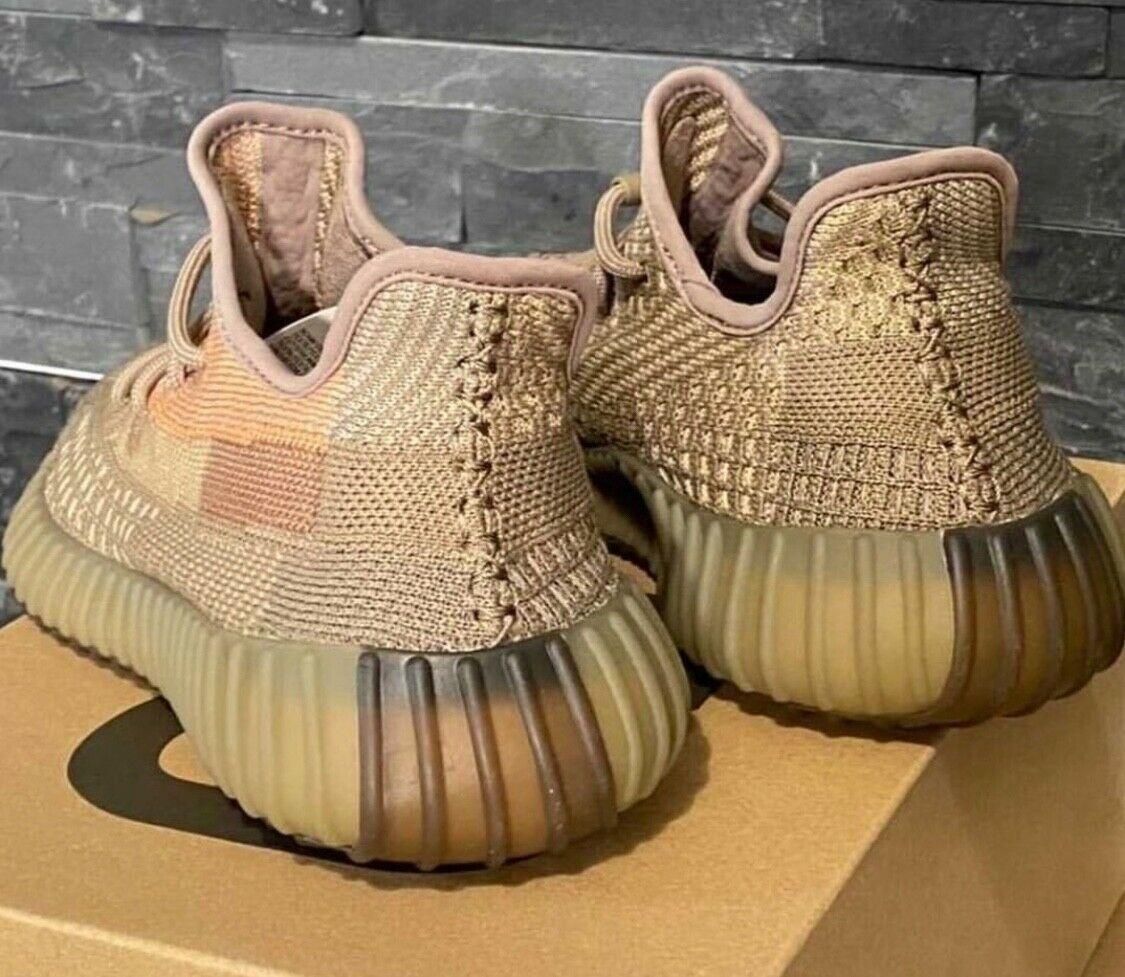 adidas yeezy 350 v2 sand taupe FZ5240 1