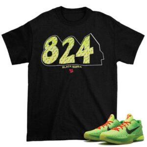 kOBE 6 Grinch 8 24 shirt
