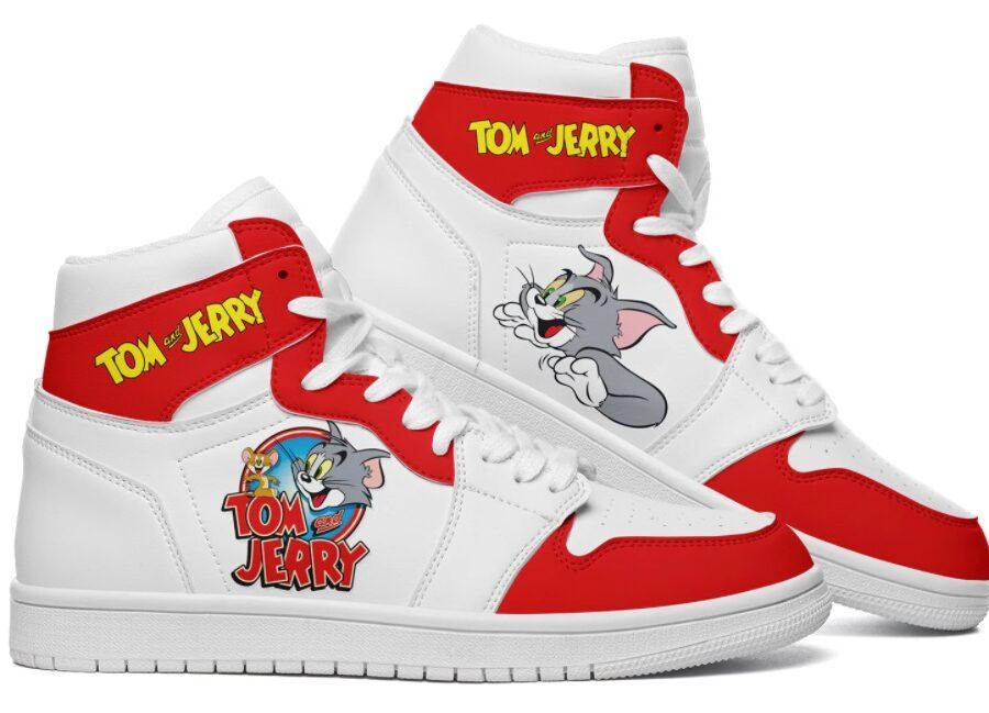 Tom & Jerry Classic logo Primo 1 custom jordan 1 White 1