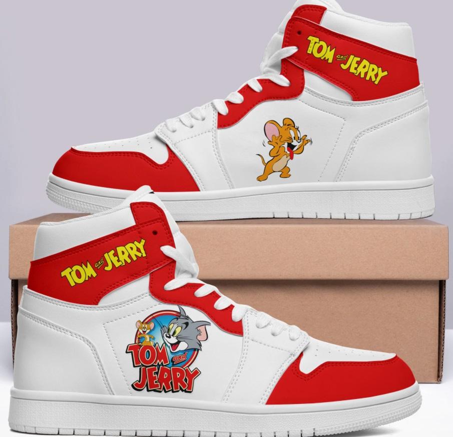 om & Jerry Classic logo Primo 1 custom jordan 1 White 2