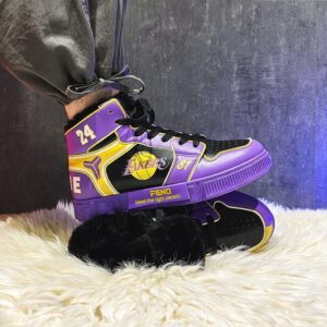 Kobe inspired custom lakers sneakers