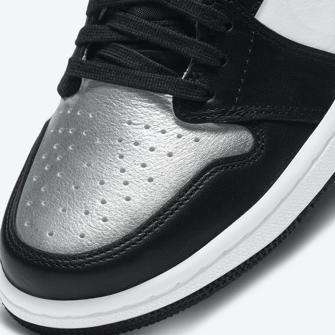 Air Jordan 1 High OG Silver Toe CD0461-001