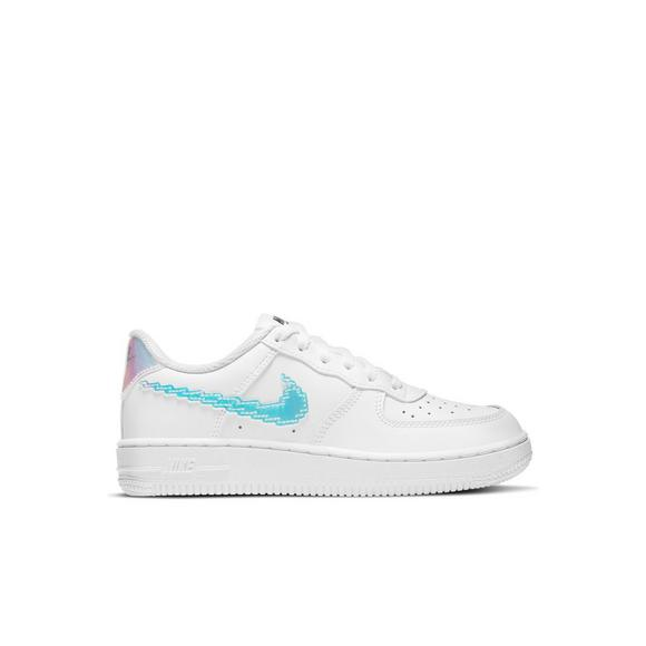 Nike Air Force 1 Iridescent Pixel white Multi