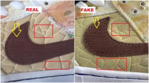 Real Vs Fake Nike Dunk SB Low CNY Street Hawker1