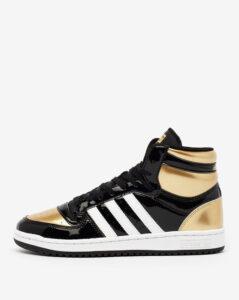 adidas top ten hi black gold