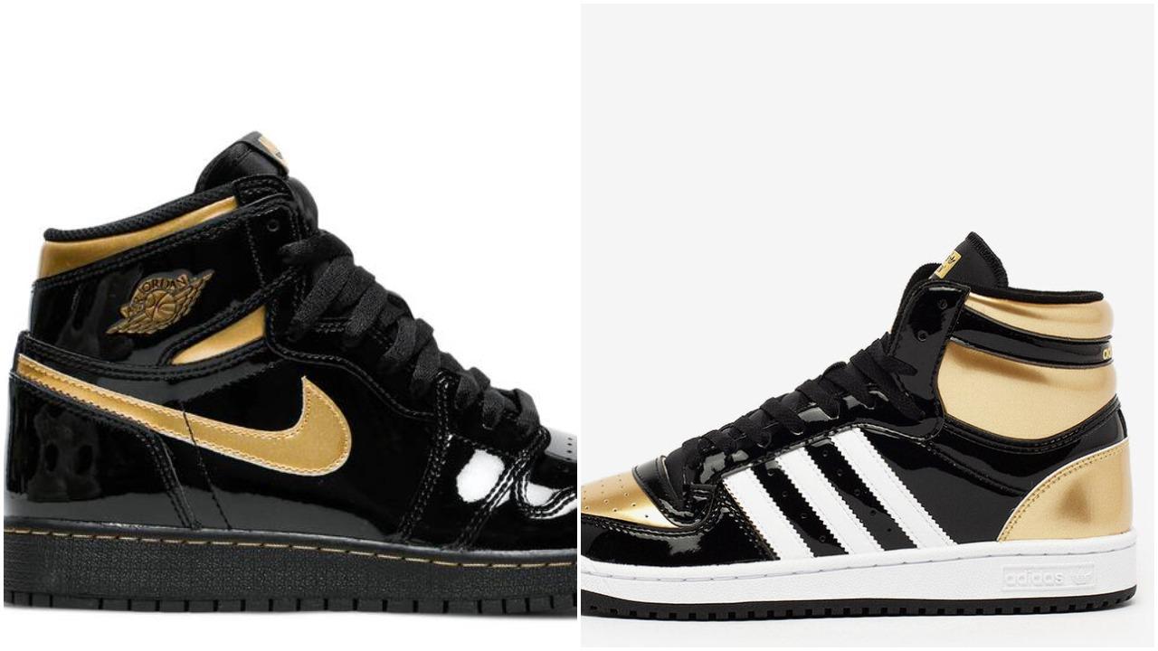 air jordan 1 black gold adidas black gold