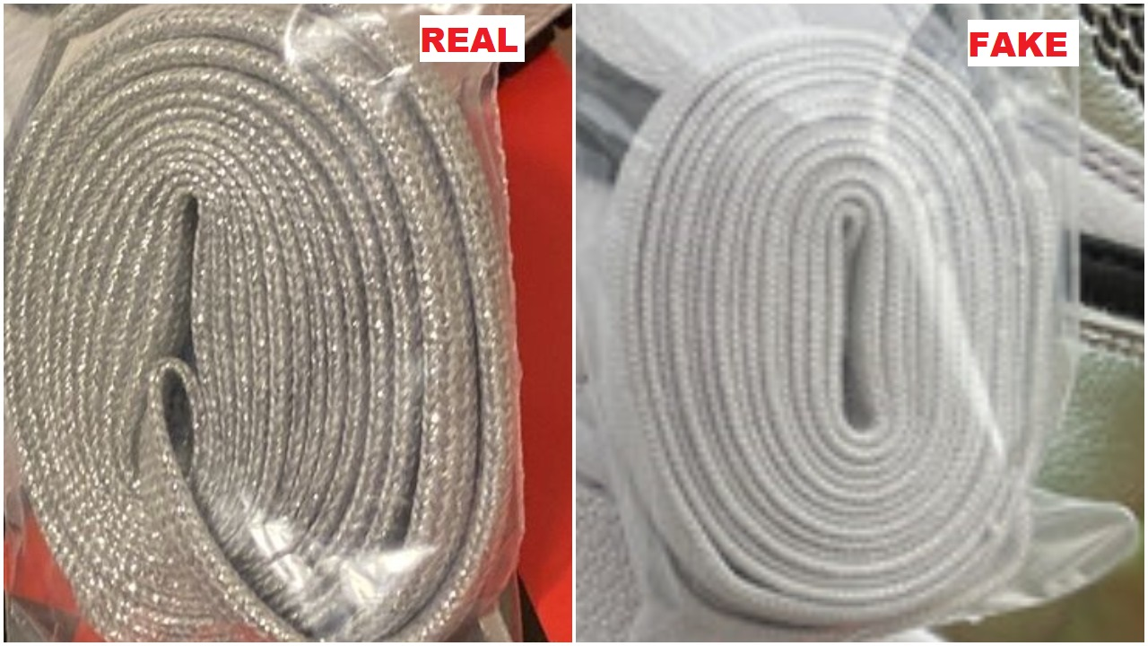 real vs fake air jordan 1 high silver toe