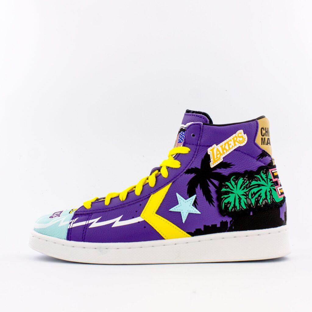 Converse Pro Leather Hi Lakers 171240C