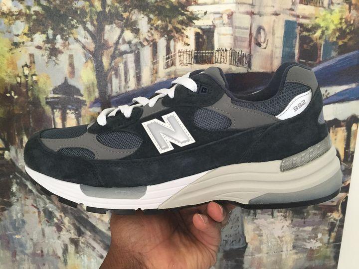 New Balance 992 Navy Grey M992GG & Buy It Now