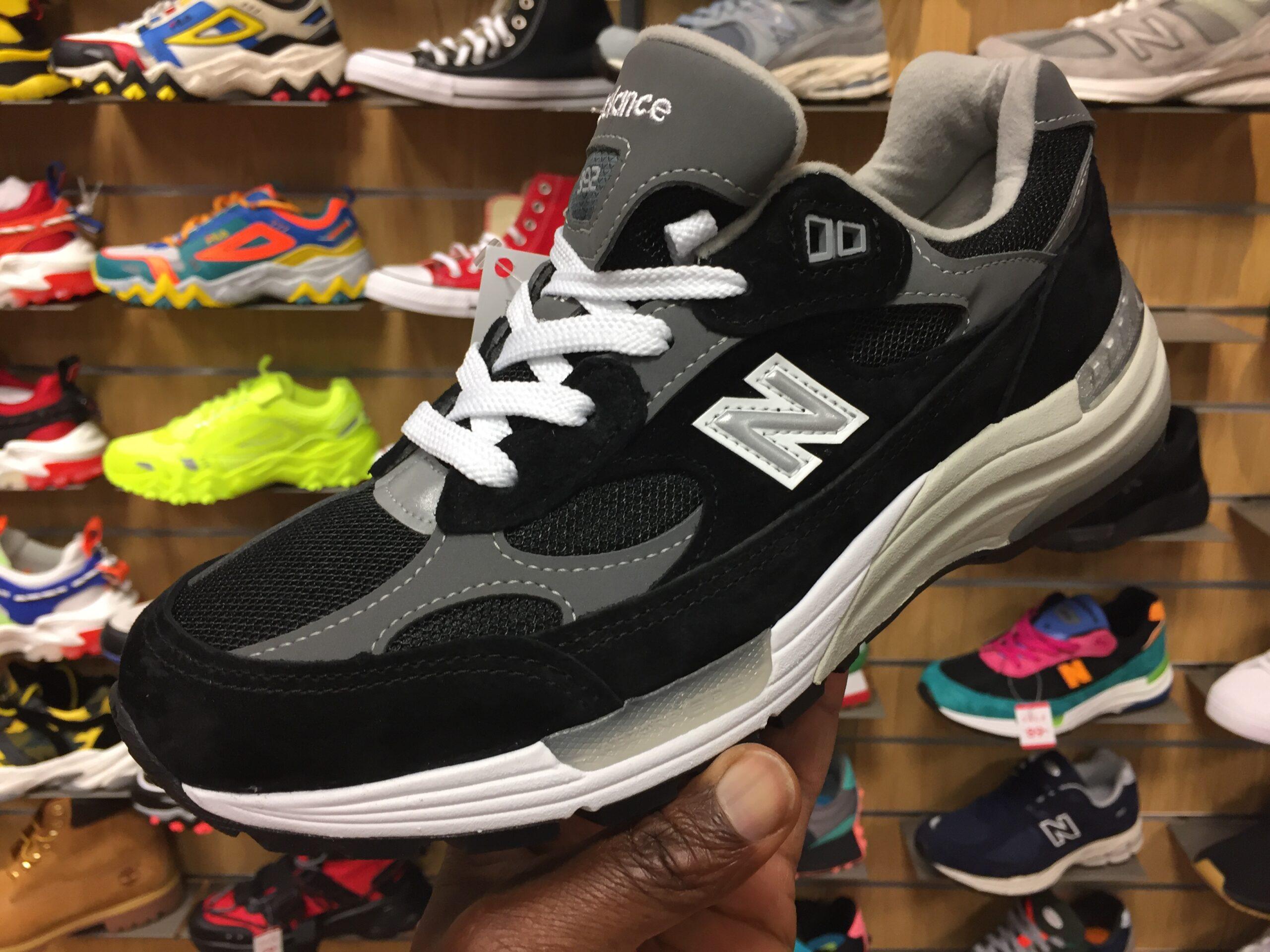 New Balance 992 Black Grey M992EB & Buy It Now