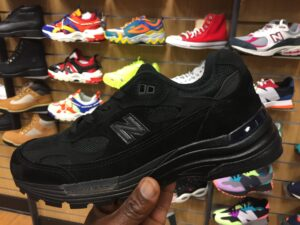 Triple black new balance 992 M992EA