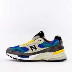 New Balance 992 Green Blue Teal Yellow M992RR