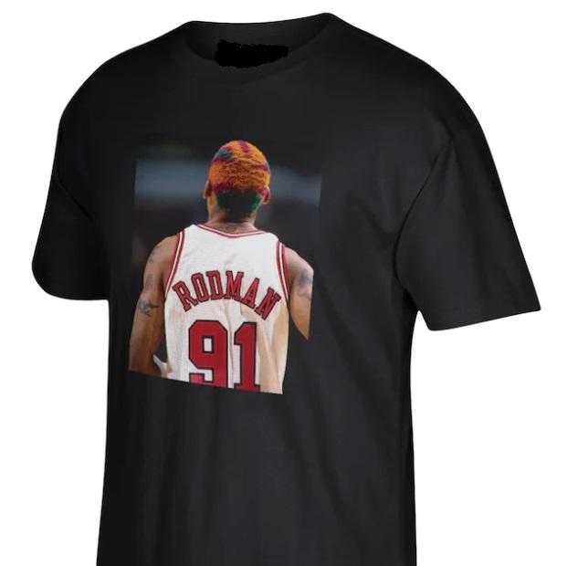 Dennis Rodman T Shirt Chicago Bulls