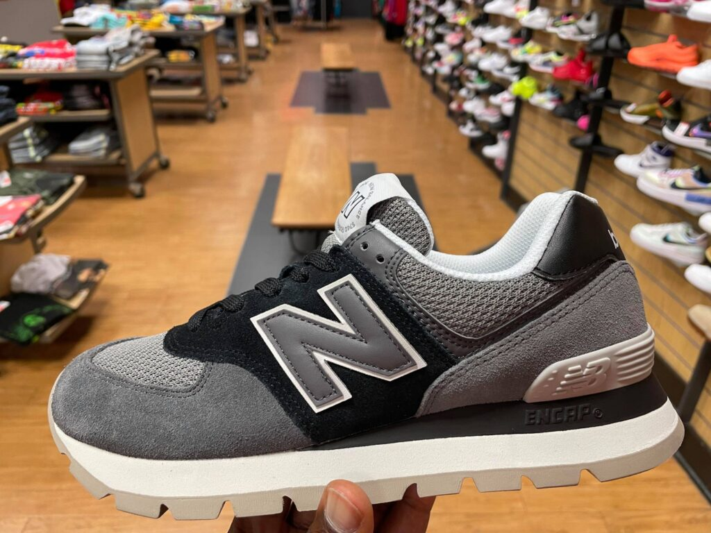 New Balance 574 Black Magnet ML574DCH