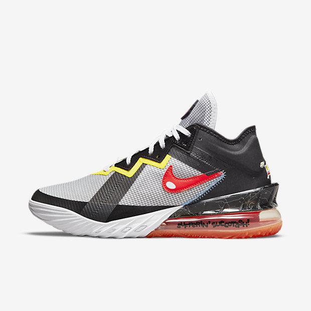 Space Jam x Nike LeBron 18 Low 'Sylvester x Tweety' cv7562 103