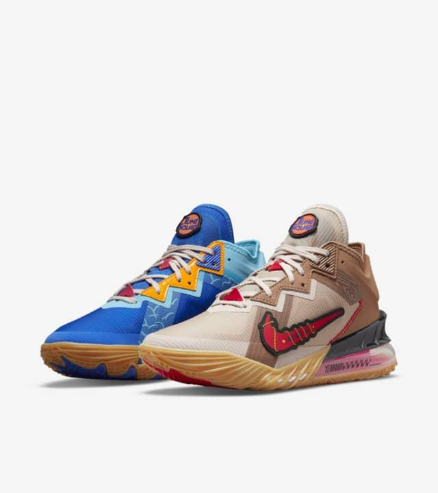 Space Jam x Nike LeBron 18 Low 'Wile E. x Roadrunner'