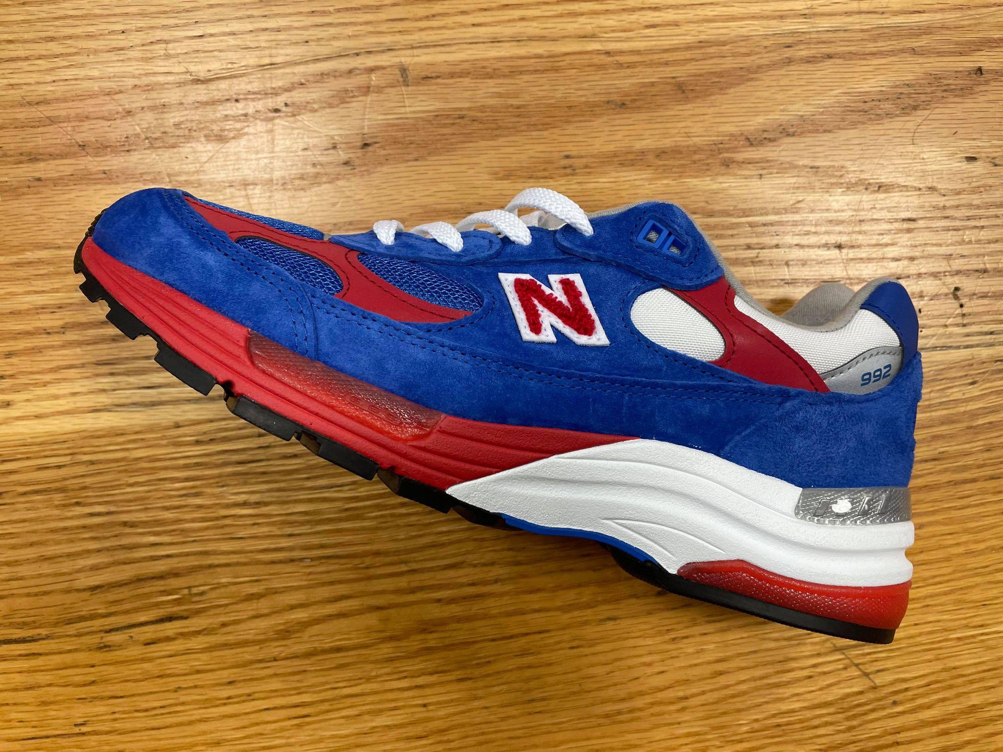New Balance 992 Blue & Red M992CC