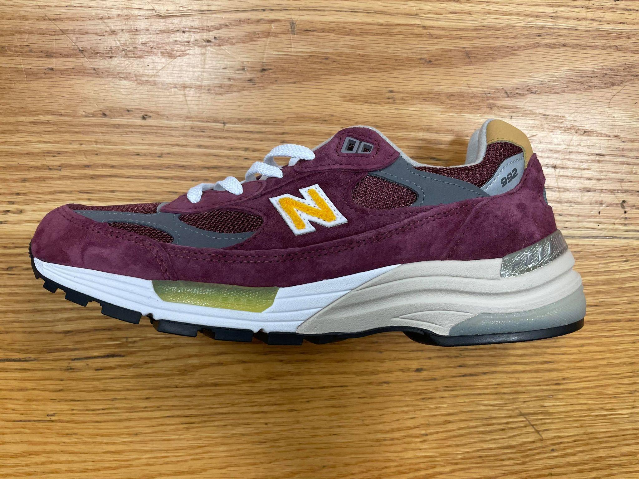 New Balance 992 NB992 Burgundy & Gold M992CA