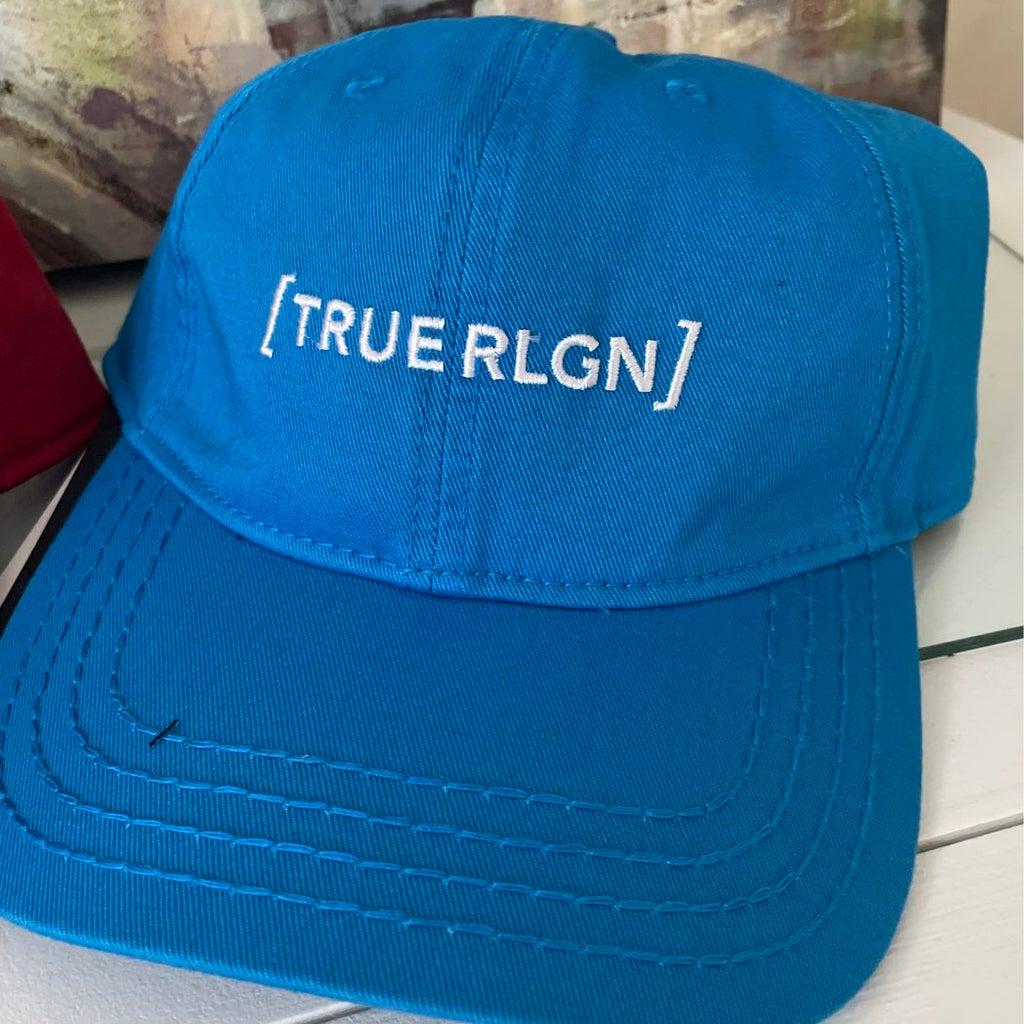 True Religion Blue Core Bracket Baseball Cap