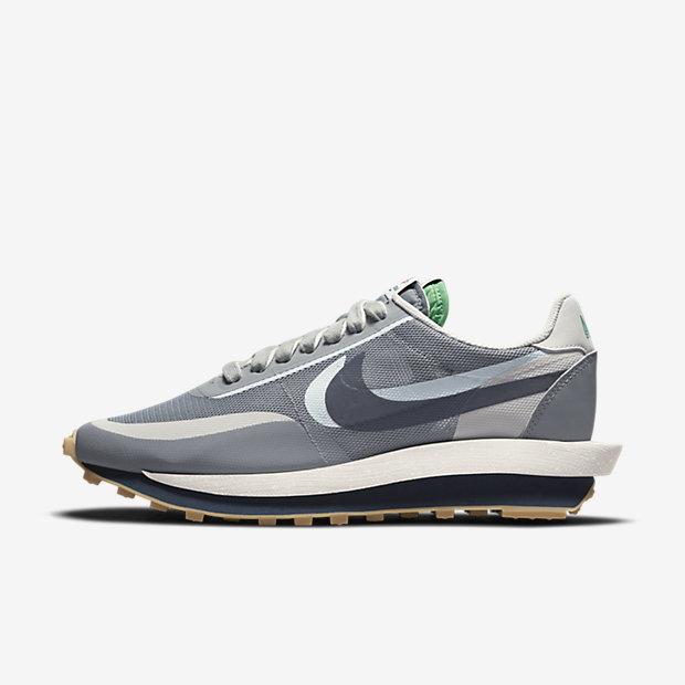 Clot x Sacai x Nike LDWaffle Cool Grey DH3114 001