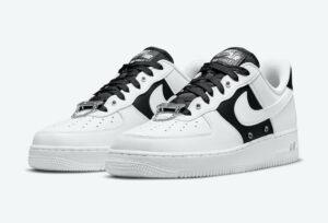 Nike Air Force 1 Low White Black Silver DA8571-100