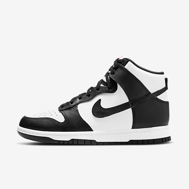 Nike Dunk High White Black DD1399 105